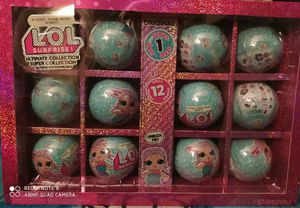 New lol surprise ultimate surprise collection merbaby 12 pack re release with glitter case sealed for Sale in Brea, CA