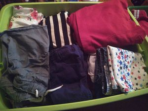 2 basket of clean clothes mostly kids and some grown up sizes good quality well maintenance for Sale in College Park, GA
