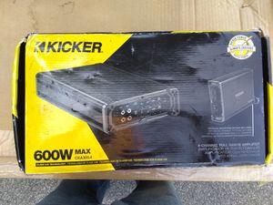 New Open Box Kicker 600W CXA300.4 4 Channel Amplifier for Sale in Columbus, OH