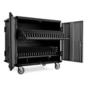 Laptop Cart Charging Storage Large fits 40 Full Size Notebooks Chromebook Tablet School Cabinet for Sale in El Cajon, CA
