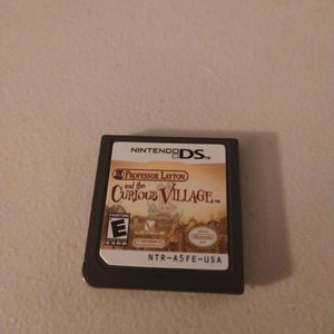 Nintendo DS Game Professor Layton And The Curious Village for Sale in Vancouver, WA