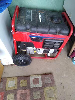 Troy Bilt 5250 Watt Generator for Sale in Bradenton, FL