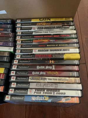 33 ps2 games for Sale in Alpine, CA