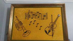 Antique velvet music wall decoration for Sale in Santa Maria, CA