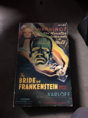 """Bride of Frankenstein monster 12"""" figure brand new sideshow toys for Sale in San Diego, CA"""
