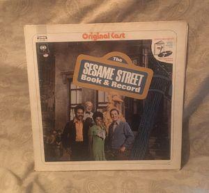 Sesame Street Vinyl LP Album for Sale in Barrington, IL