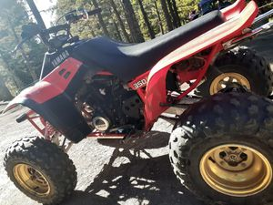 Mean machine!! !1987 Yamaha Warrior 350. Many new parts for Sale in Lochbuie, CO
