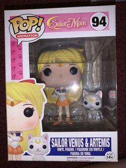 Sailor Venus & Artemis Funko Pop for Sale in Fontana,  CA