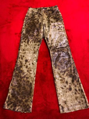 Brand New! Revolt Jeans Faux Snakeskin Pants for Sale in Las Vegas, NV