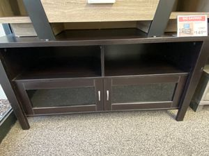 TV Stand for Tvs Up to 55in, Red Cocoa for Sale in Downey, CA