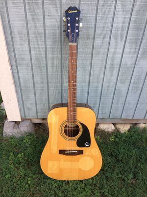 Epiphone DR-100 NA Acoustic Guitar for Sale in San Antonio, TX