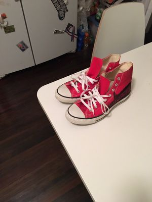 Red converse sneakers for Sale in Boston, MA