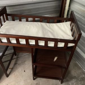 Baby Changing Table With Shelves for Sale in Canton, GA