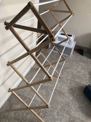 Wooden laundry rack for Sale in Columbia, MO
