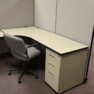 Herman Miller Brand Cubicle With Desk for Sale in Atlanta, GA