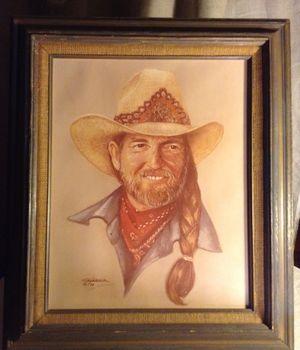 WILLIE NELSON'S Photograph Portrait 1980 for Sale in San Antonio, TX