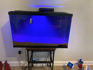 Fish Tank and stand for Sale in Temple Hills, MD