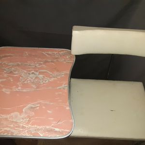 Teen Side Desk With Chair Attached To Half Desk for Sale in Elgin, SC