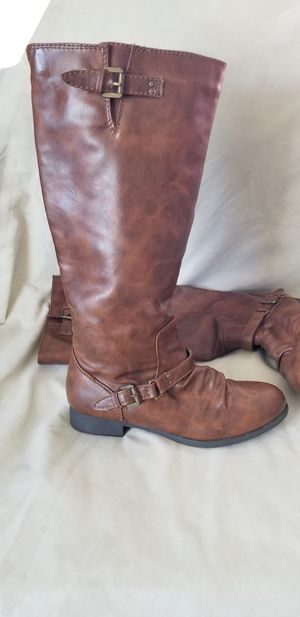Brash Knee High Brown Boots for Sale in Highland, IL