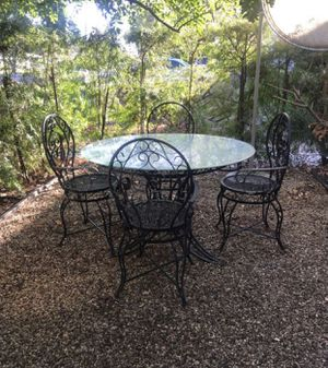 IRON PATIO for Sale in Rolling Hills Estates, CA