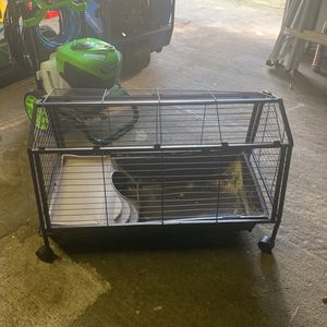 Rabbit / Cage for Sale in Tacoma, WA