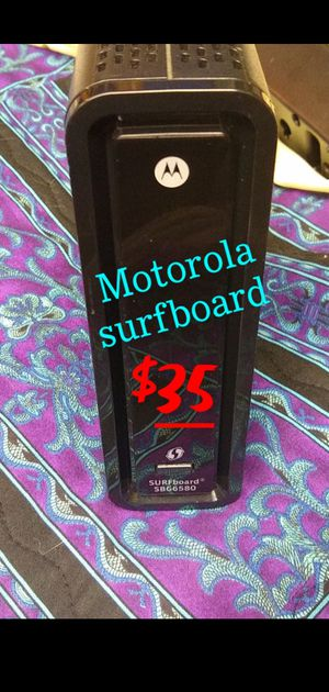 Motorola Surfboard Modem Router Combo for Sale in Colton, OR