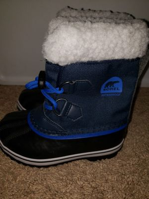 Sorel kids snow boots for Sale in Niles, IL