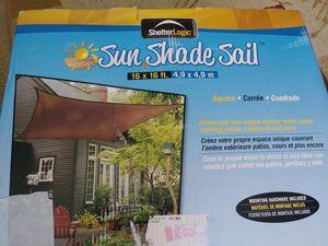 ShelterLogic Sun Shade Sail for Sale in Alexandria, LA