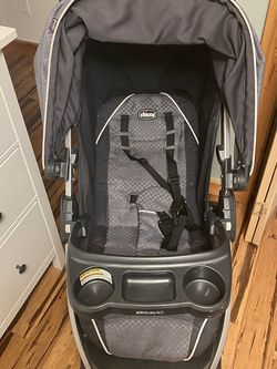 Chicco Bravo Stroller, Keyfit Car seat And Base for Sale in Conifer,  CO