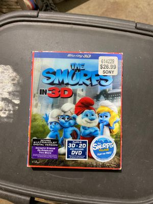 The Smurfs in 3D, Blu Ray for Sale in Chula Vista, CA