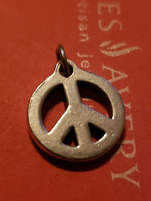 James avery peace charm, RETIRED for Sale in Corpus Christi, TX