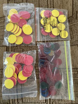 Shapes and two colored counters for Sale in Sacramento, CA