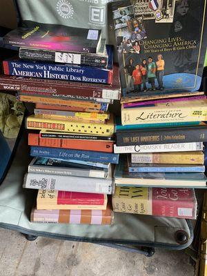 FREE Books lot over 30 books literature misc for Sale in TN OF TONA, NY