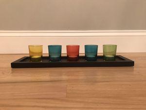 Color tea light candle holder for Sale in Appleton, WI