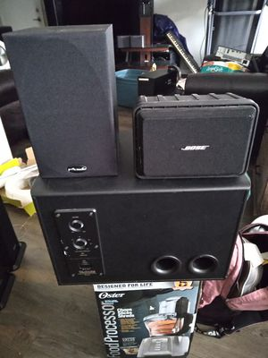 Bose speaker& polk audio& technics subwboffer for Sale in Franklin, TN