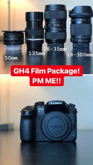 GH4 Film Package - Sigma Lens' for Sale in Alamo, CA