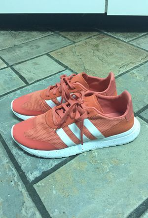 Salmon Pink Adidas Shoes size 9 Women's for Sale in Silver Spring, MD