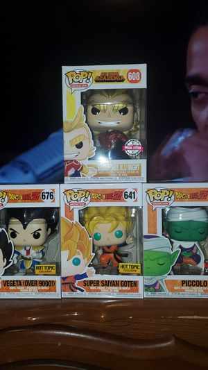 Dragonball z pops/all might for Sale in Moreno Valley, CA
