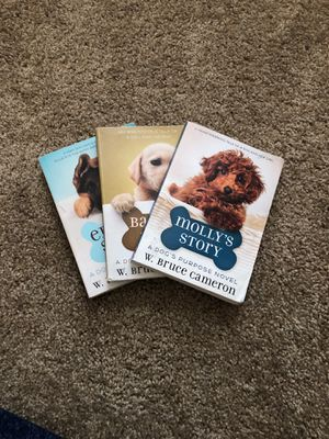 A dog's purpose novels, Author: W. Bruce Cameron for Sale in Madeira Beach, FL