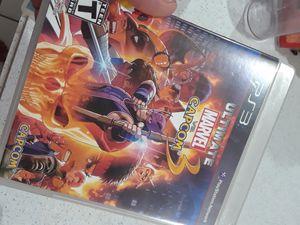 Ultimate Marvel vs Capcom 3 Trade Like New (PS3) for Sale in El Centro, CA