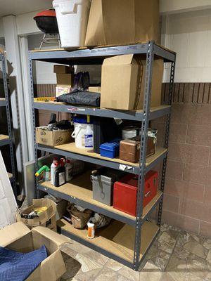 Free Adjustable Metal Shelves for Sale in Lakewood, CA