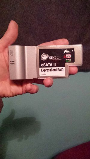 Siig ii expresscard for Sale in Salt Lake City, UT