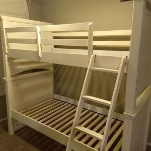 Twin over Twin bunkbed - Legacy Classic Kids Summerset in Ivory. for Sale in Glendale, AZ