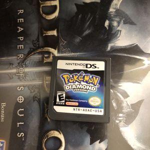 Authentic Pokémon Diamond Nintendo DS for Sale in Fort Lauderdale, FL