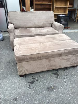 Loveseat And Ottoman Hide-A-Beds - Delivery Available for Sale in Tacoma, WA
