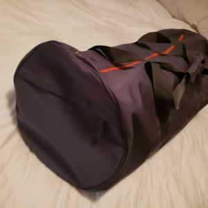 Hugo Boss Orange Gray luggage travel Duffle Gym Bag for Sale in Houston, TX