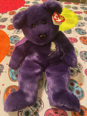 XL Princess Diana Beanie baby New with tag for Sale in Billerica, MA