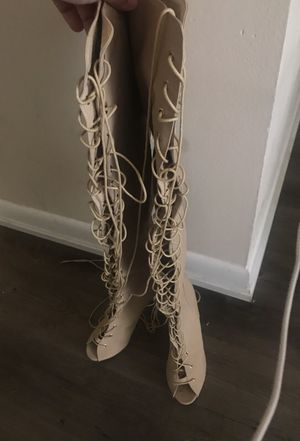 Thigh high boots sz10 for Sale in Tampa, FL