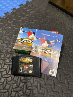 Tony Hawk's pro skater 3 for n64 for Sale in Damascus, OR