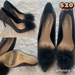 Black Shimmering Pump for Sale in Quincy,  MA